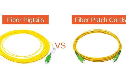 Differences Between Fiber Pigtails and Fiber Patch Cords