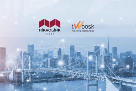 Mirkolink Fiber and Twoosk Partnership