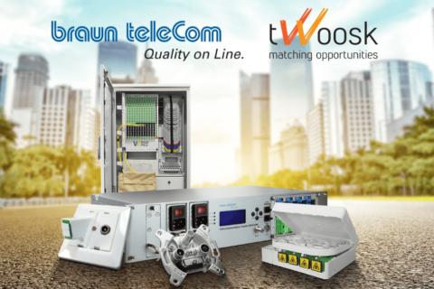 braun teleCom partnership with Twoosk marketplace