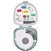 Fiber Optic OTDR Launch Box Through Type SM G657.A2 SC/UPC-SC/UPC 1000 meters
