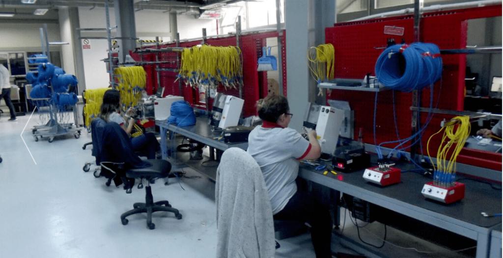 SAMM Cables Production