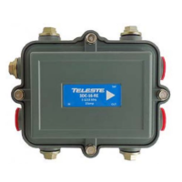 2-Way Outdoor Coaxial Tap 1.2 GHz Regal Style from Teleste